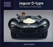 Jaguar D-type - the story of XKD 526 by John Elmgreen